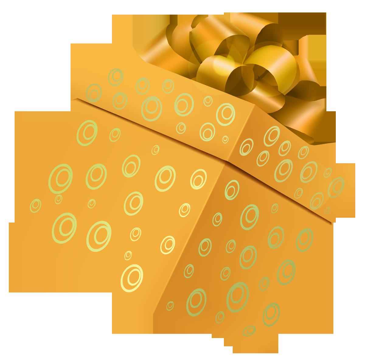 Gift box PNG image