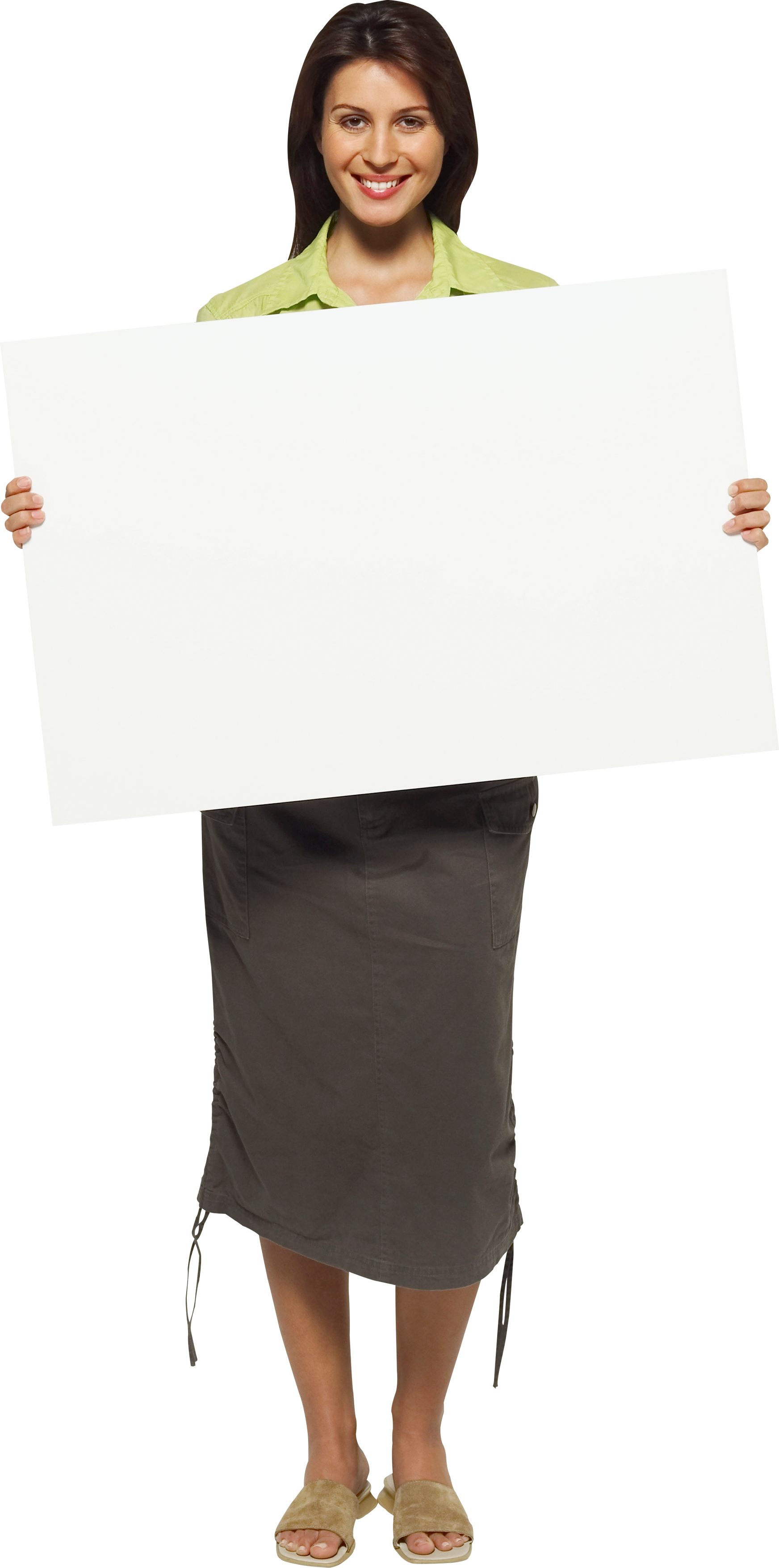 Business woman girl PNG image