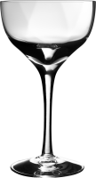 Empty wine glass PNG image