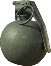 round hand grenade PNG image