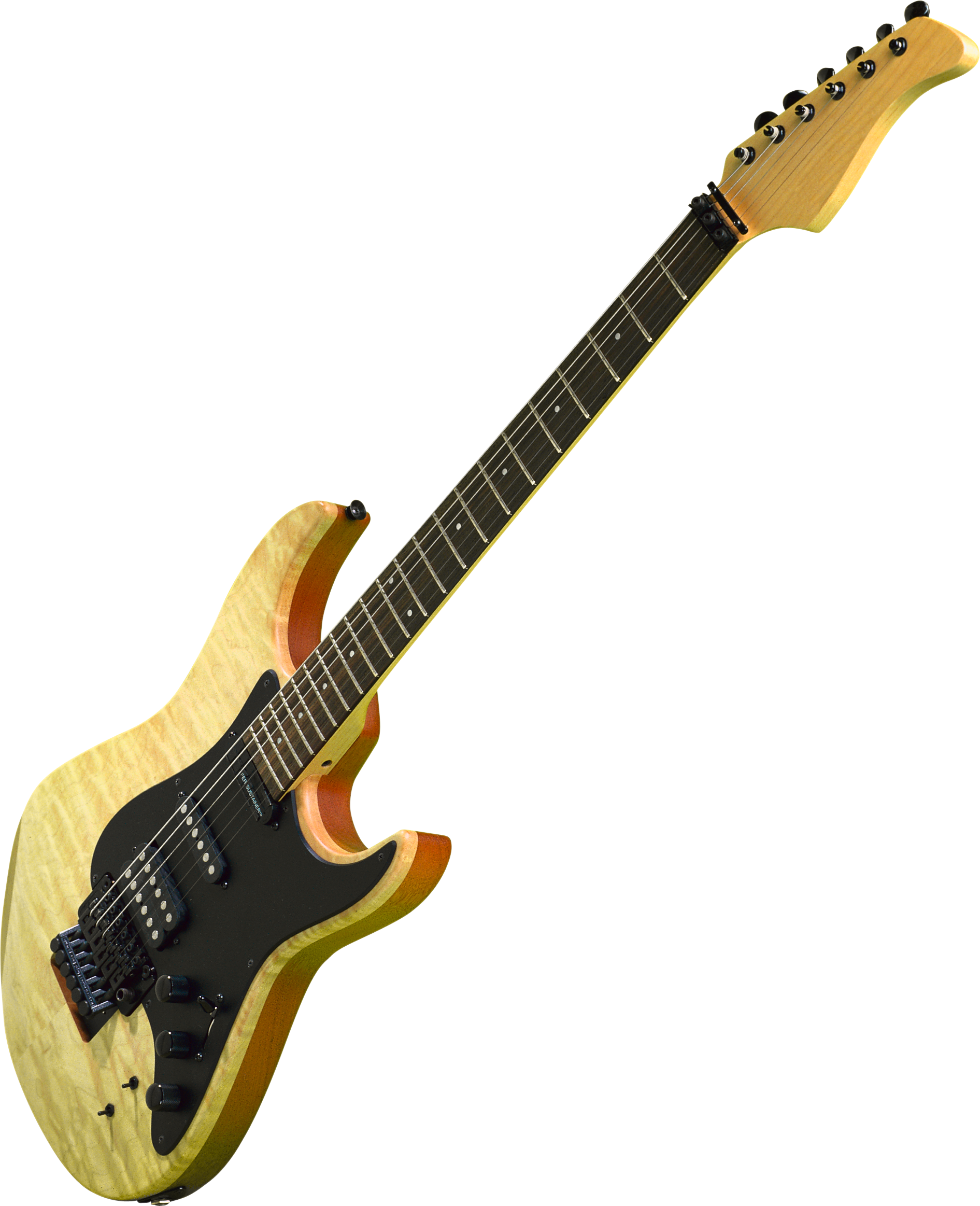 Electric guitar PNG image