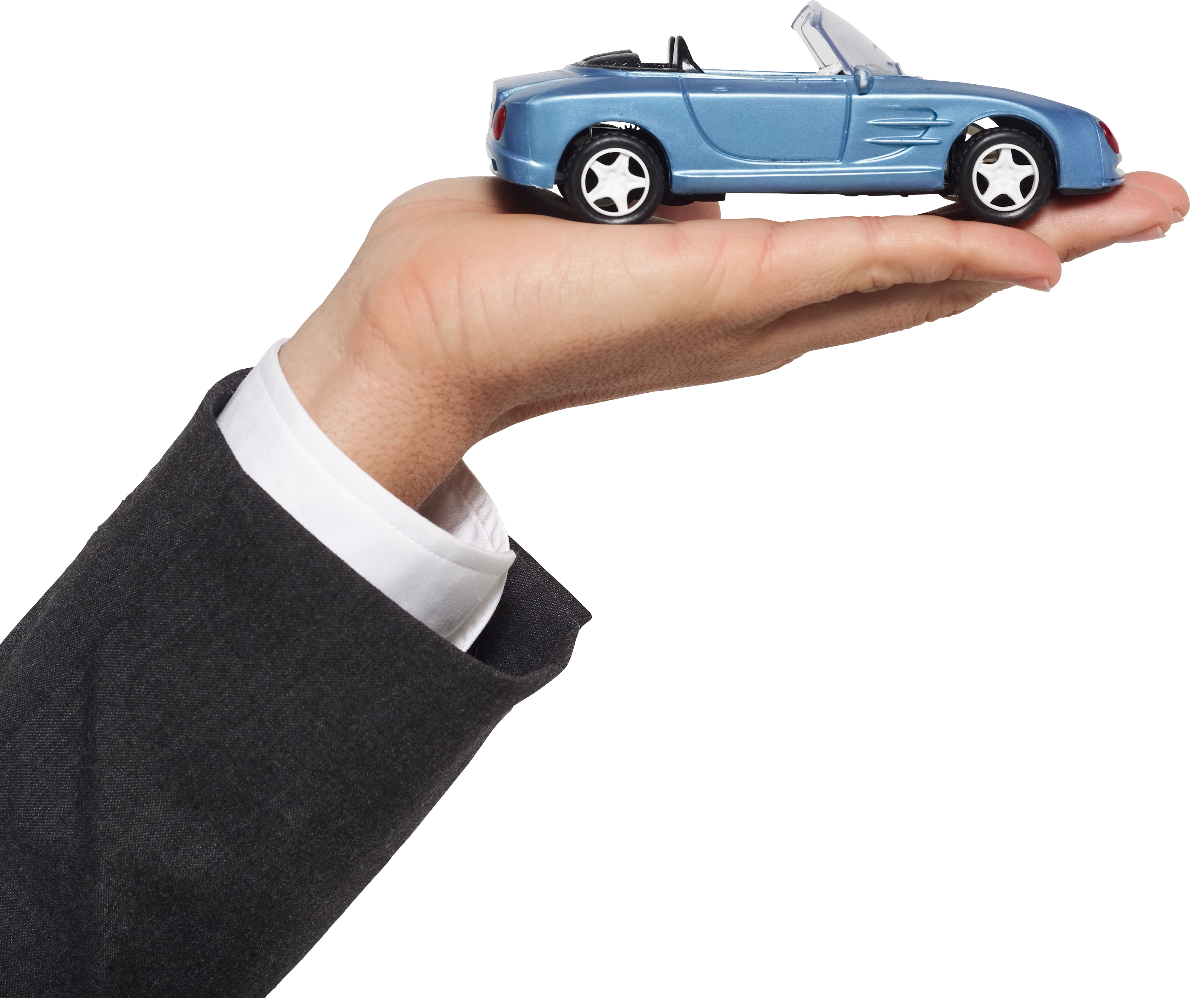 car in hand, auto on hand PNG image