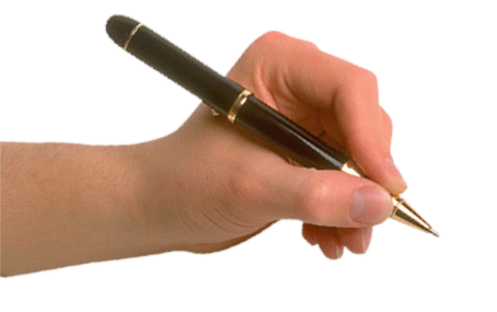 Pen in hand, hands PNG, hand image free