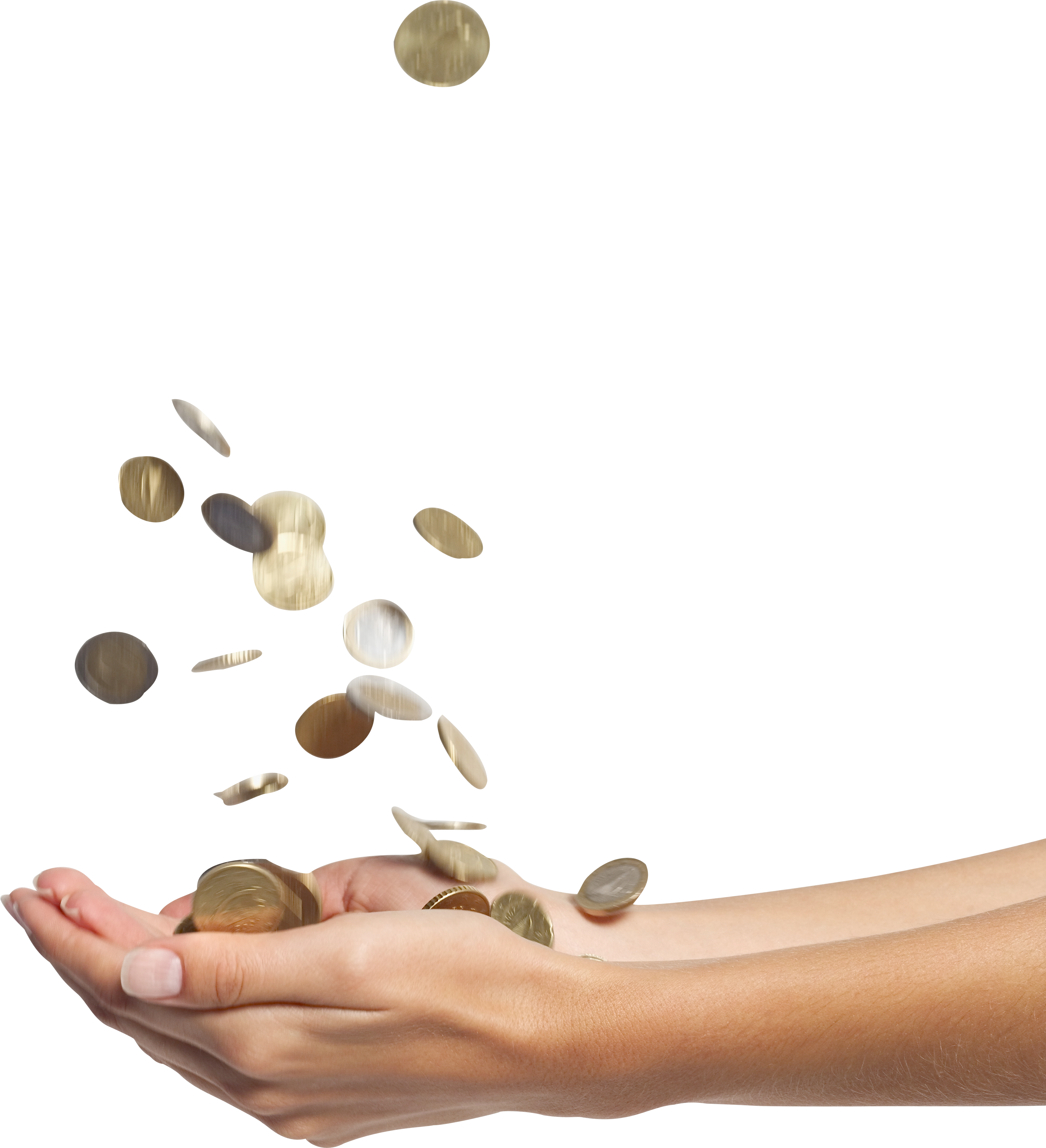 money in hand PNG