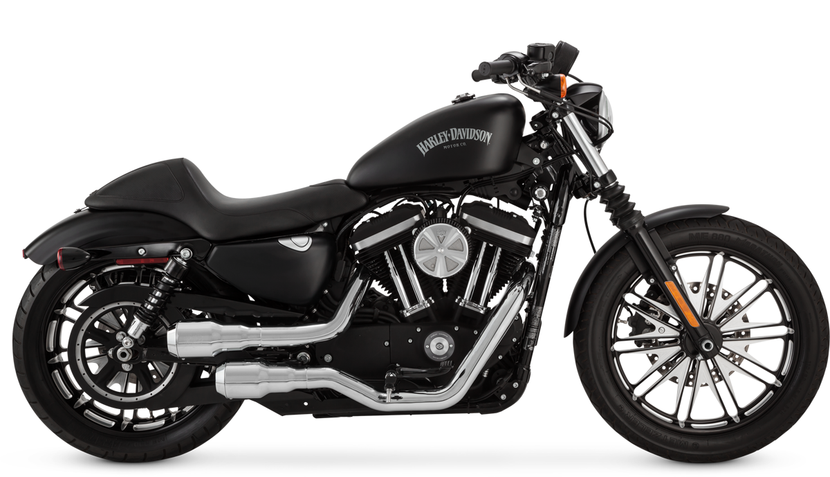 Harley Davidson Blacked Out Bike