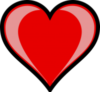 Heart PNG image, free download