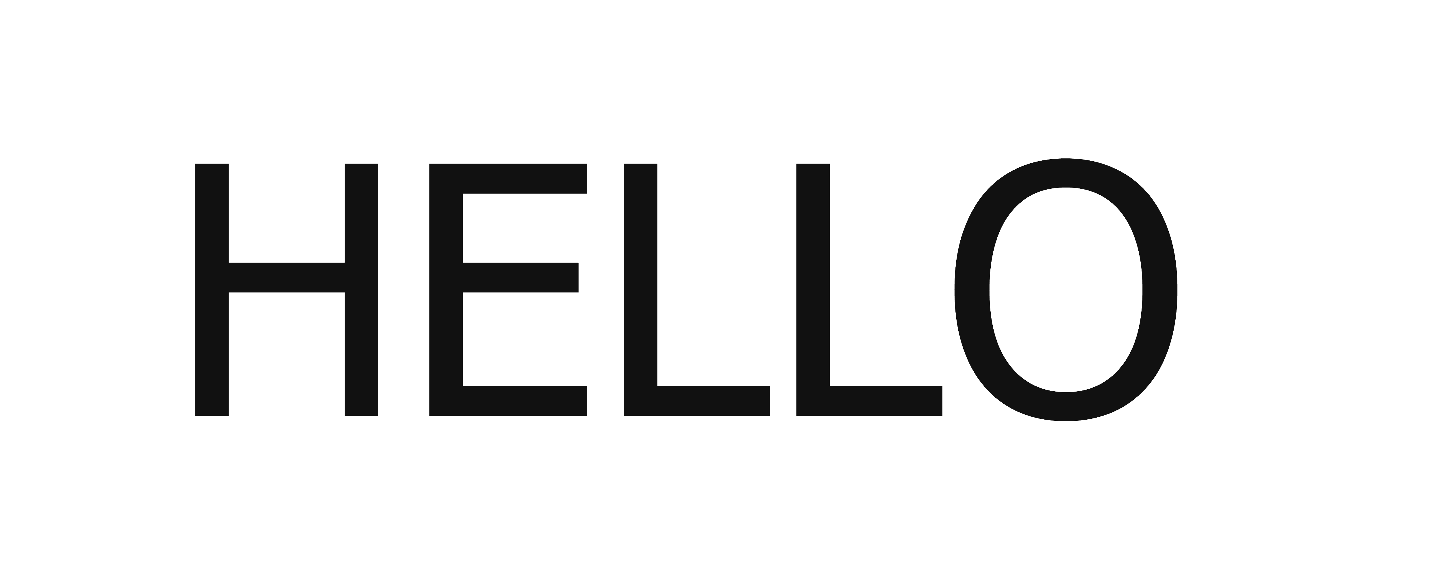 Hello PNG images Download