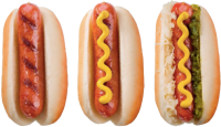 Hot dogs PNG image