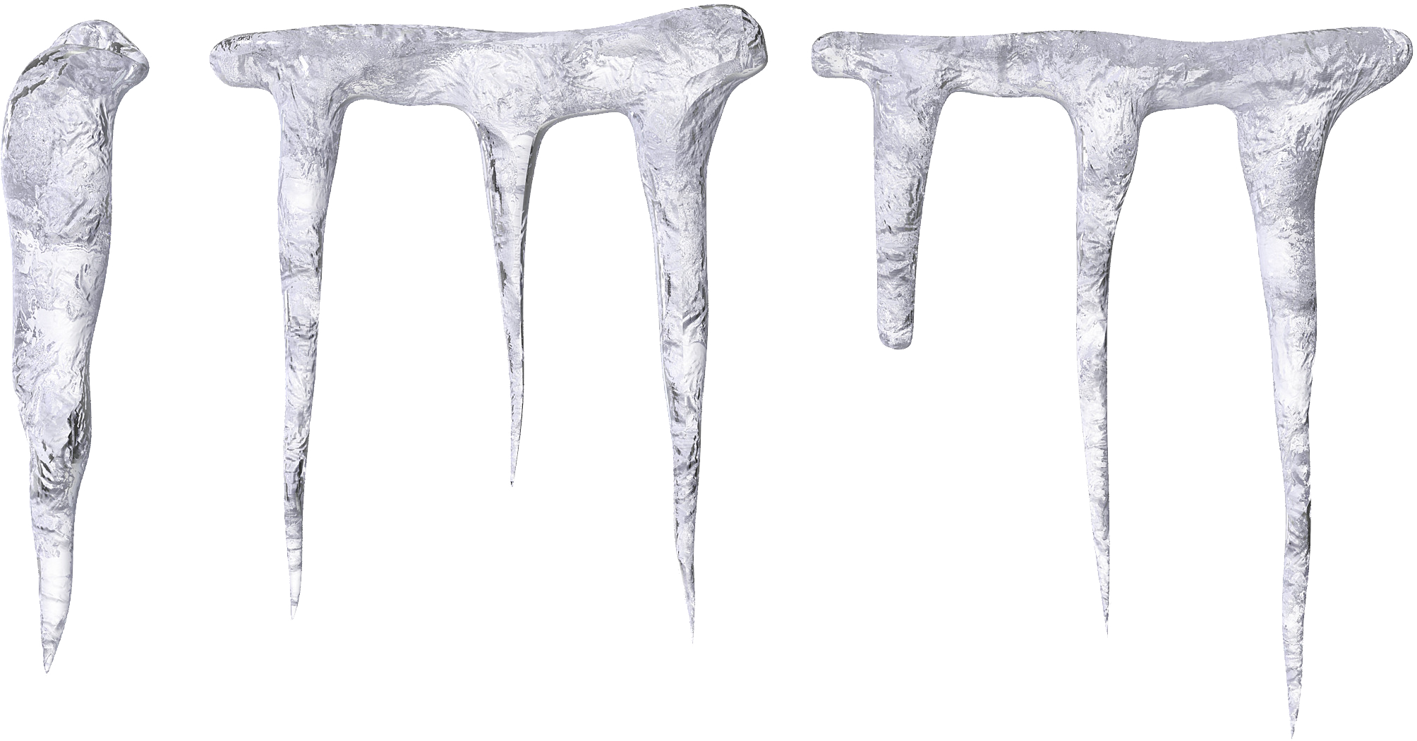 Icicles PNG image