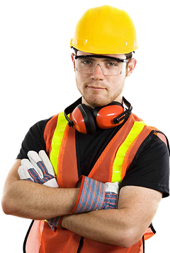 Industrial worker PNG image