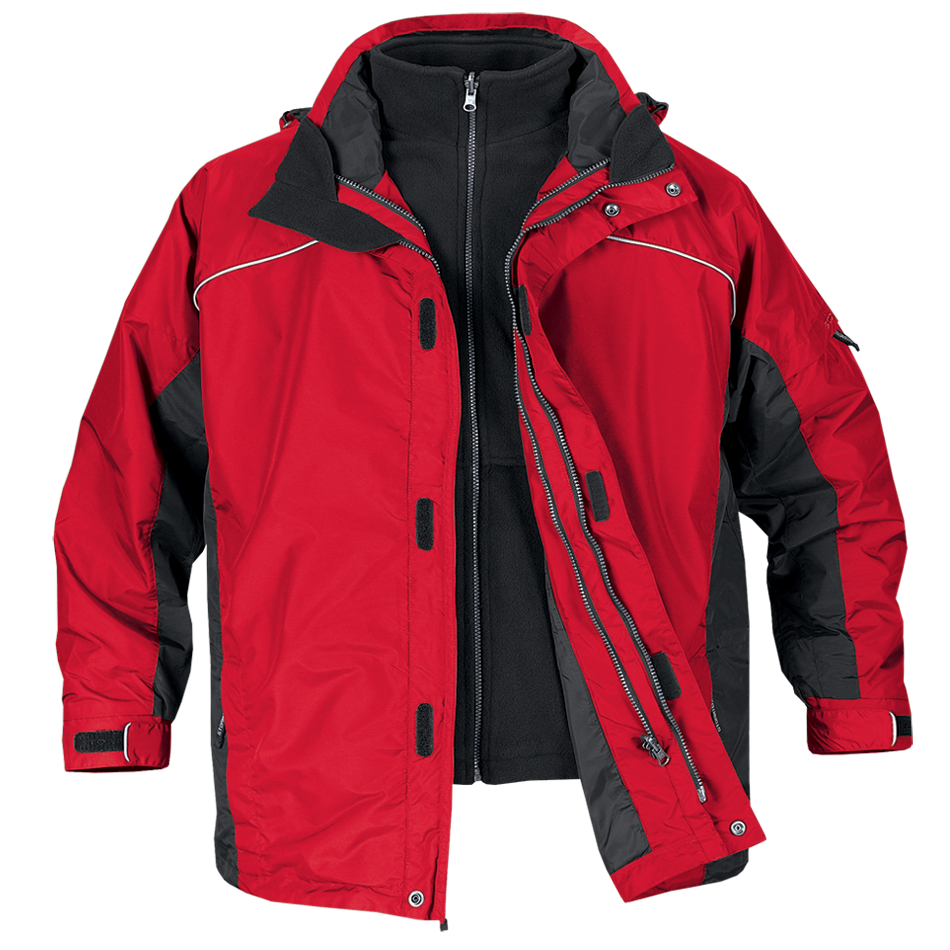 Red jacket PNG image