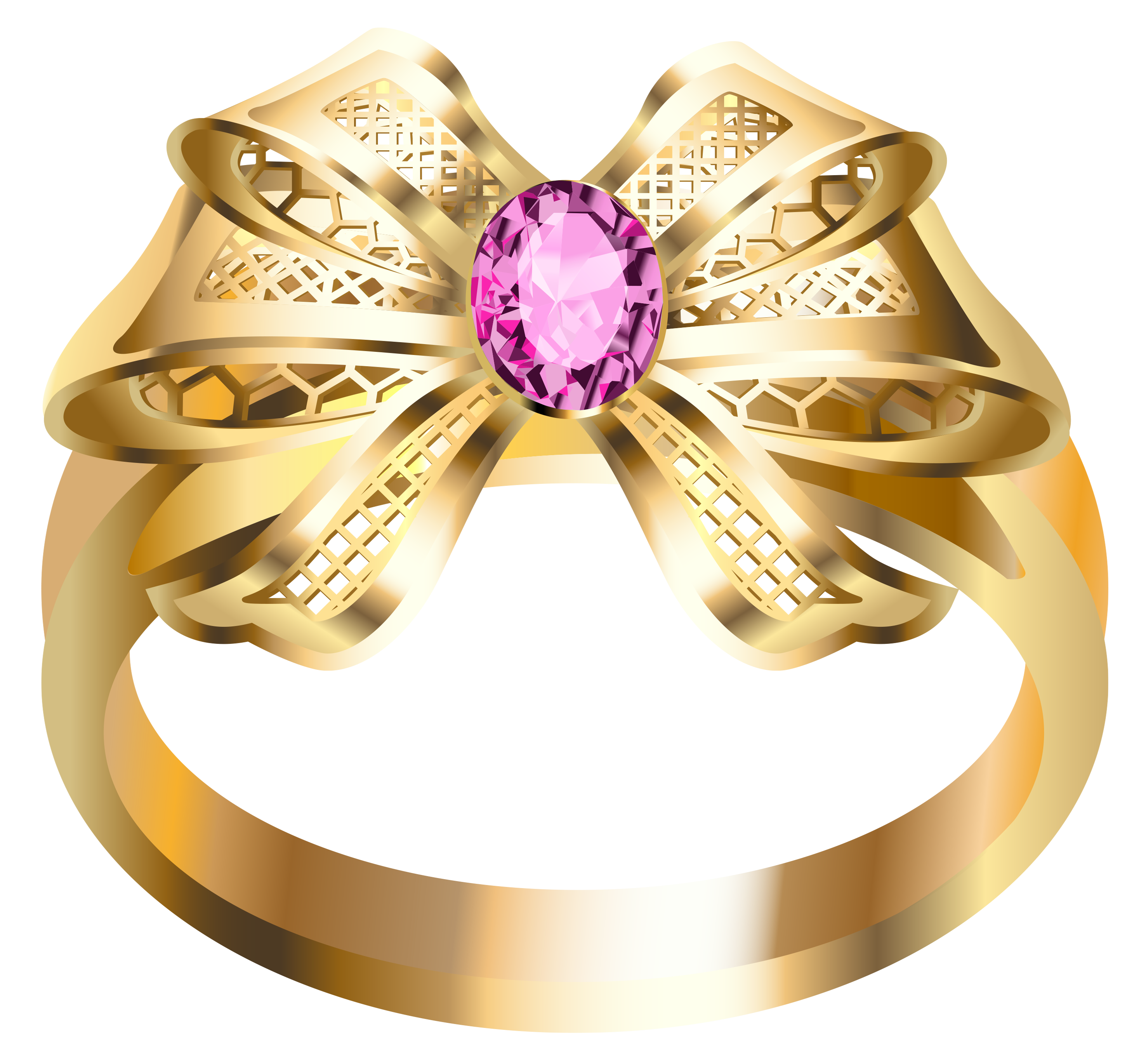 ring with diamond PNG