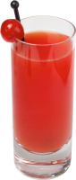 Red Juice PNG image