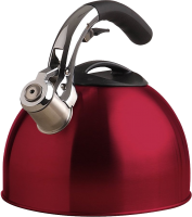 Red kettle PNG image