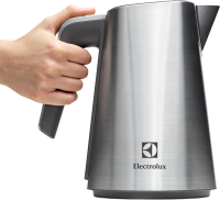 Kettle in hand PNG image