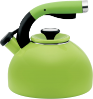 Green kettle PNG image