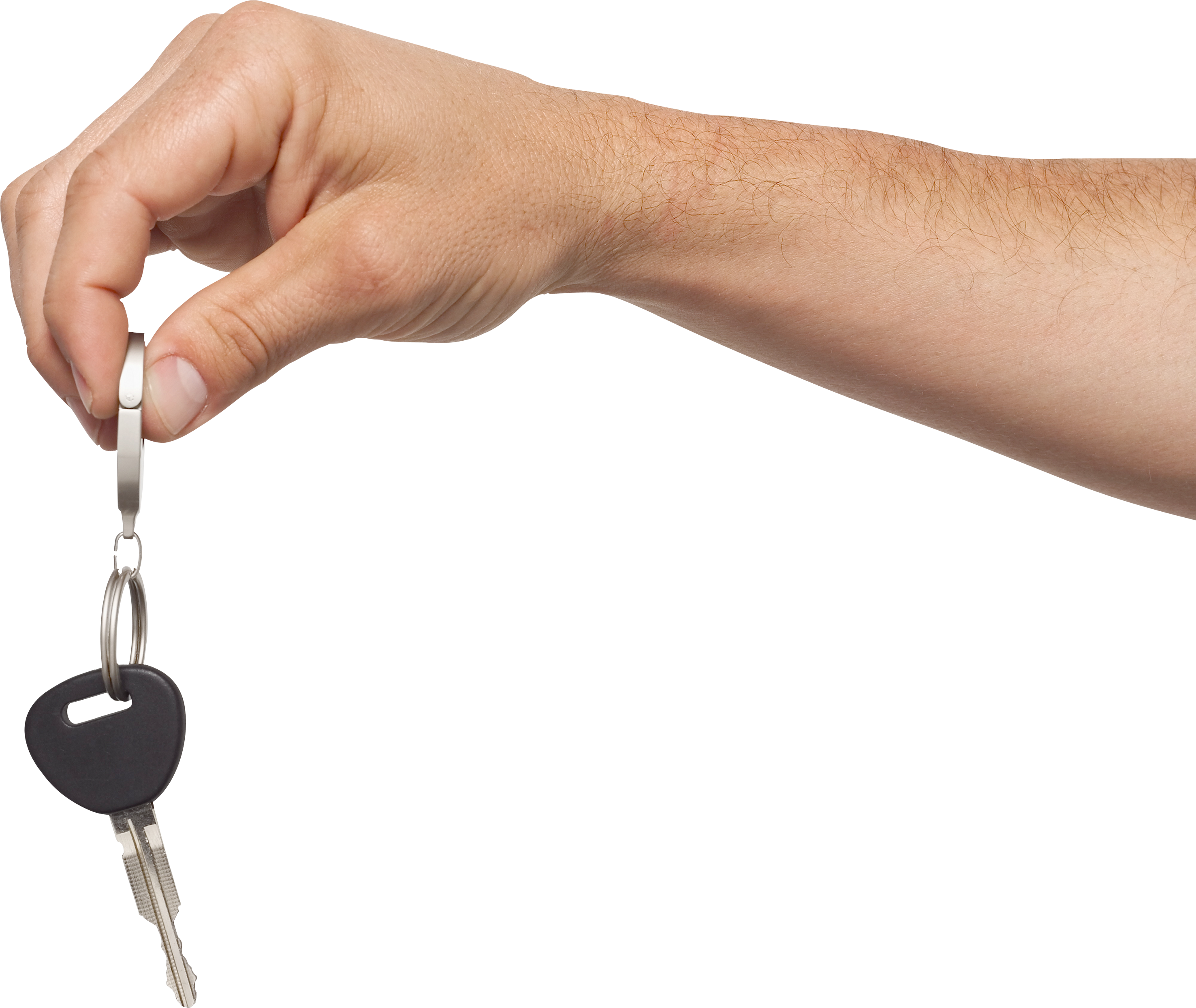 key in hand PNG image