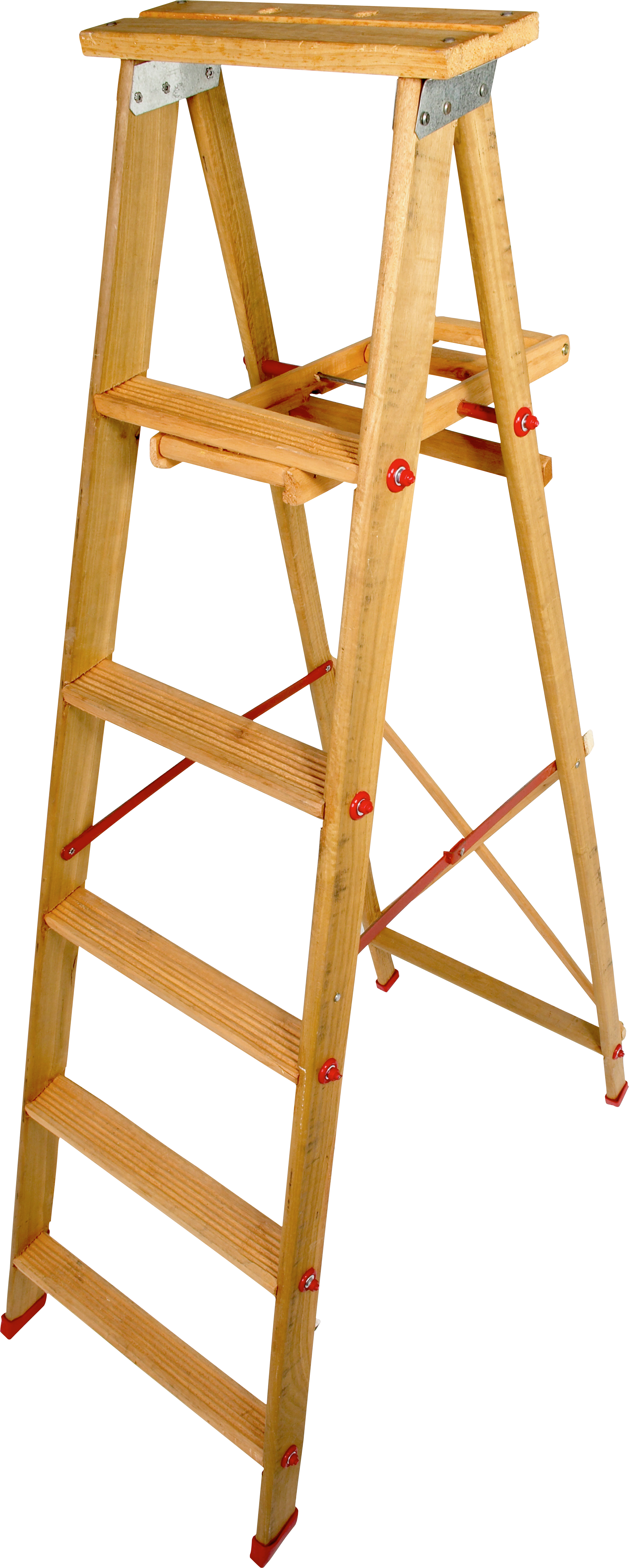 Wood step ladder PNG