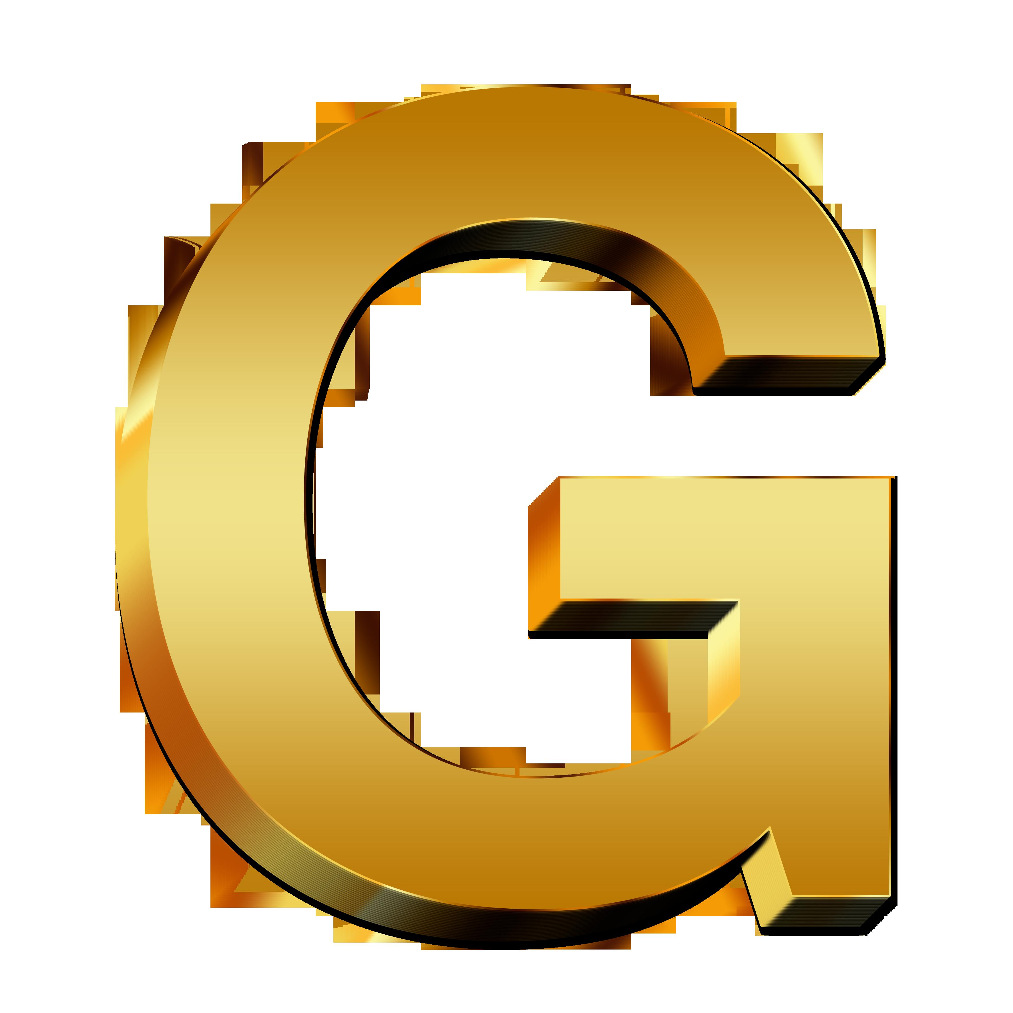 Letter G PNG images free download