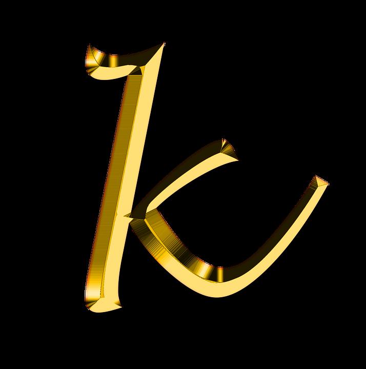 Gentil Letter K PNG