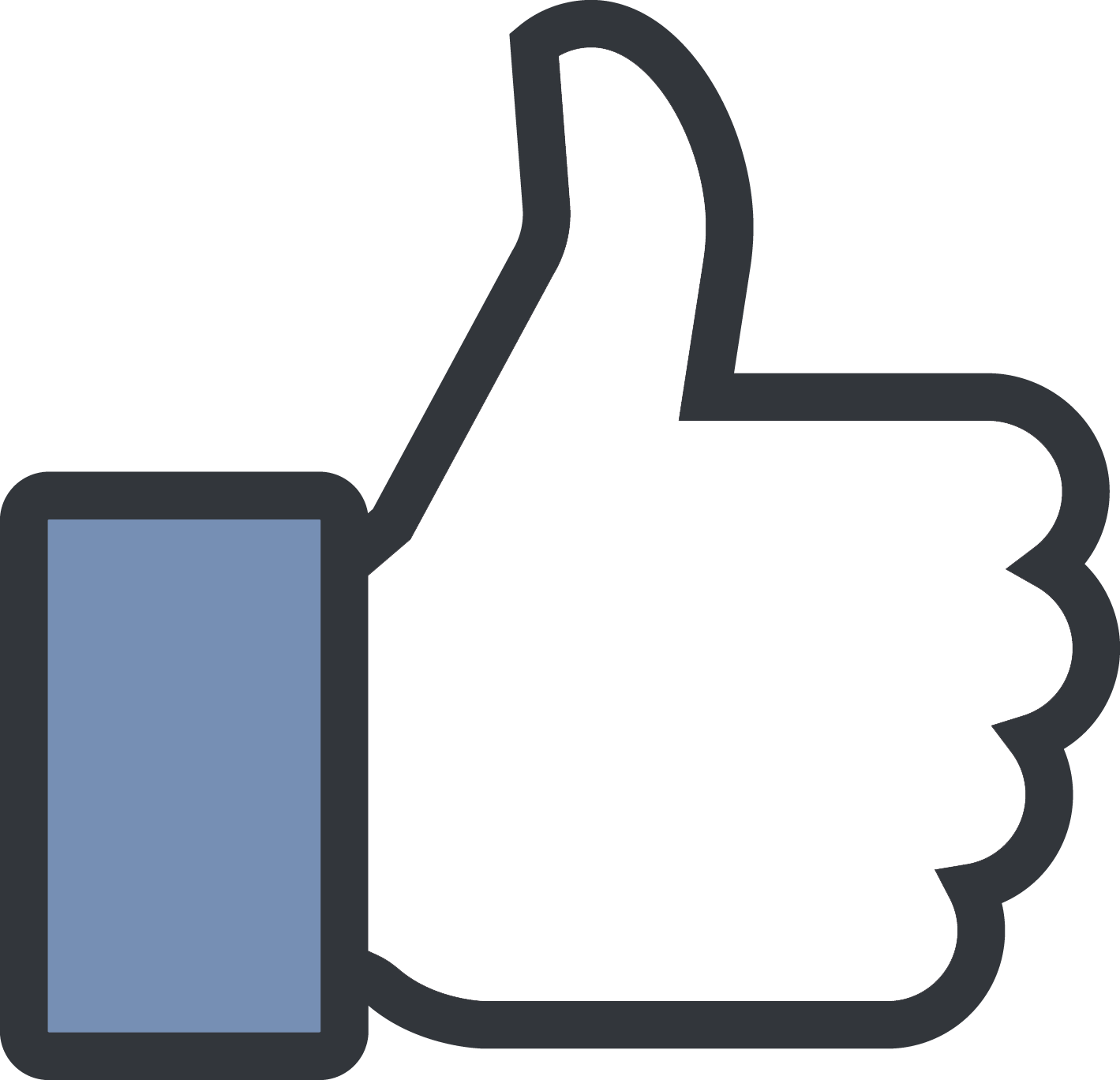 Image result for like button png