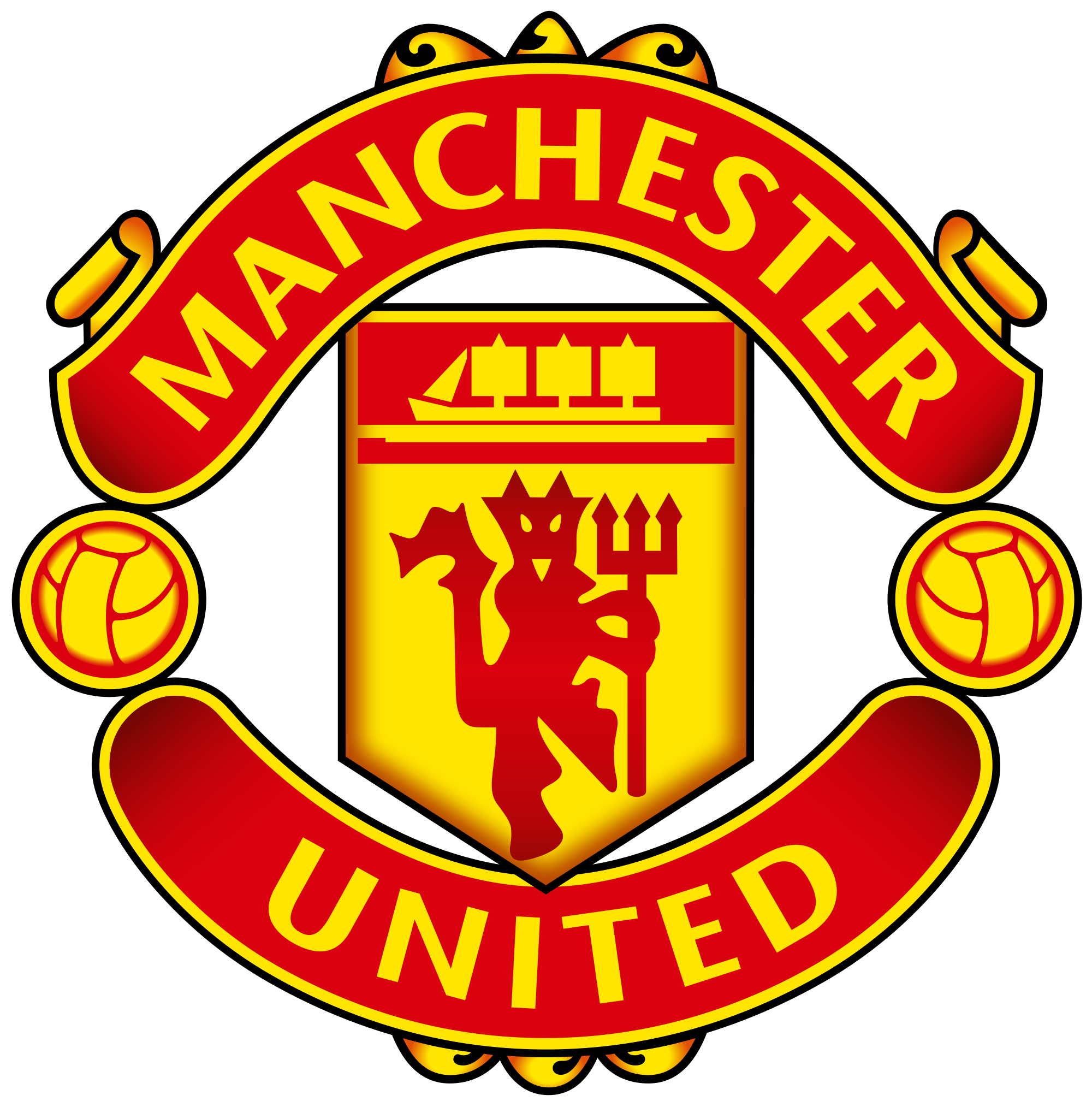 Manchester United logo PNG