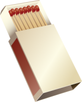 Matches box PNG image