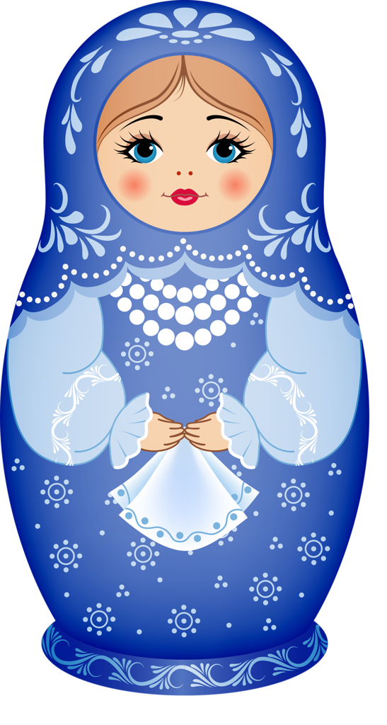 Matryoshka doll PNG