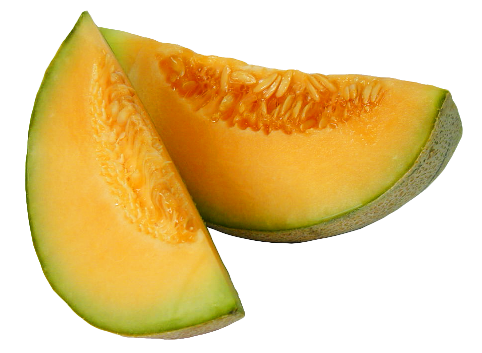 Sliced melon PNG