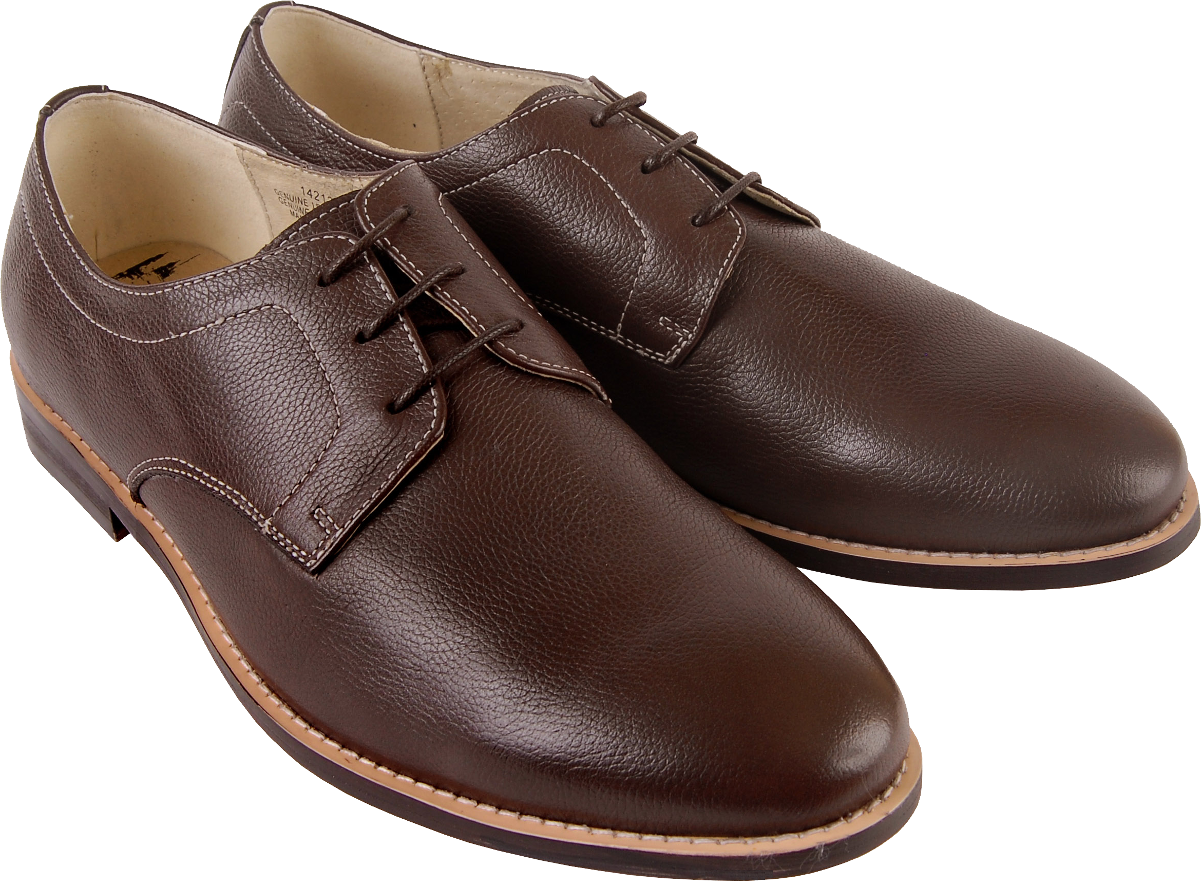 Brown men shoes PNG image