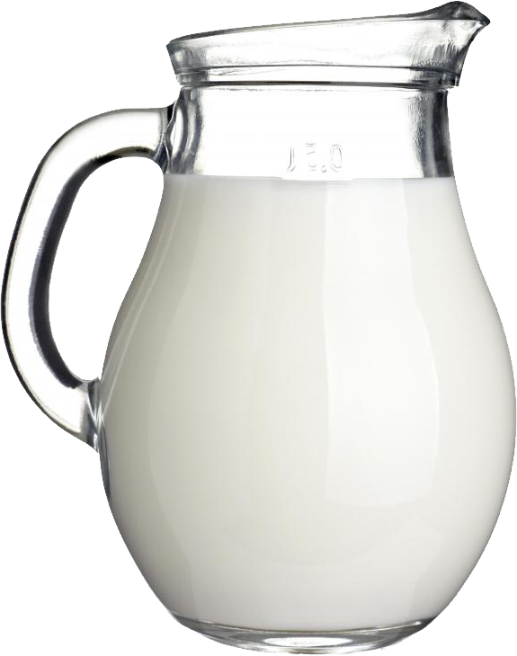 milk jar PNG
