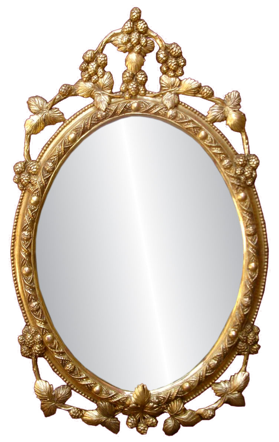 Furniture png images free download for Fancy white mirror