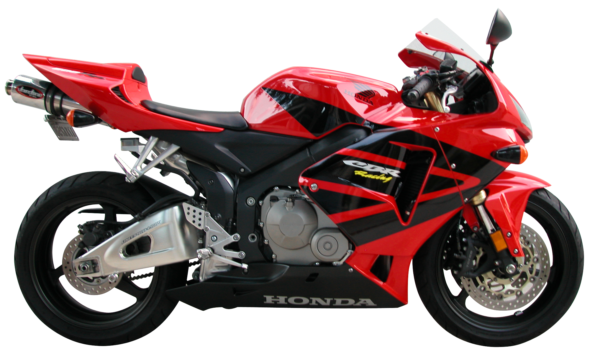 Red sport moto PNG image, red sport motorcycle PNG