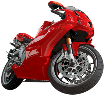 Red moto PNG image, motorcycle PNG