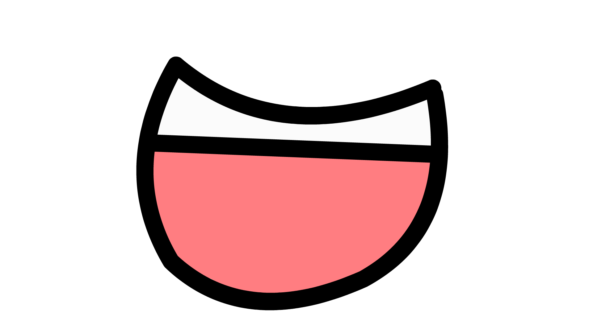 Smile mouth PNG
