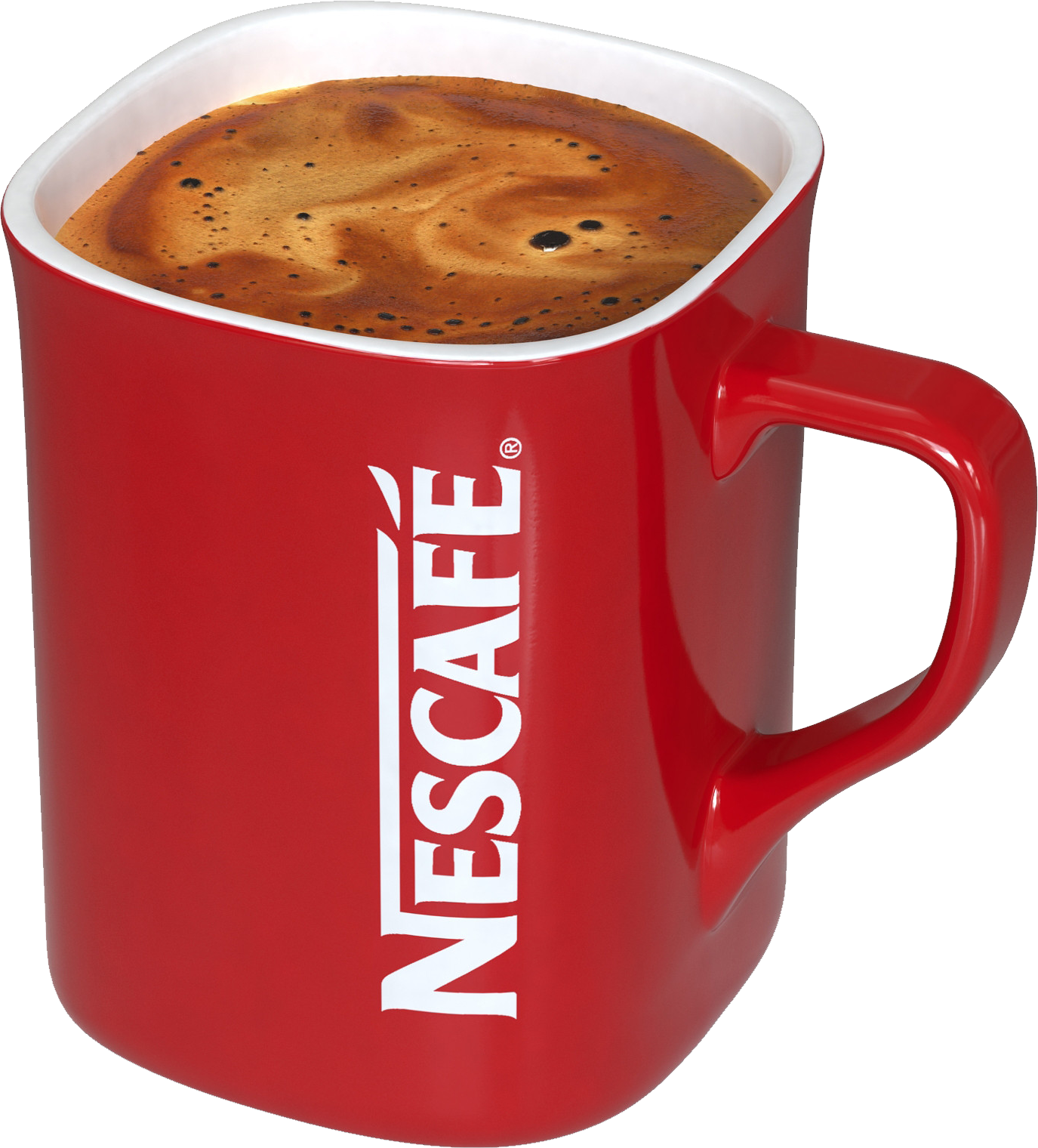 Nescafe red mug coffee PNG