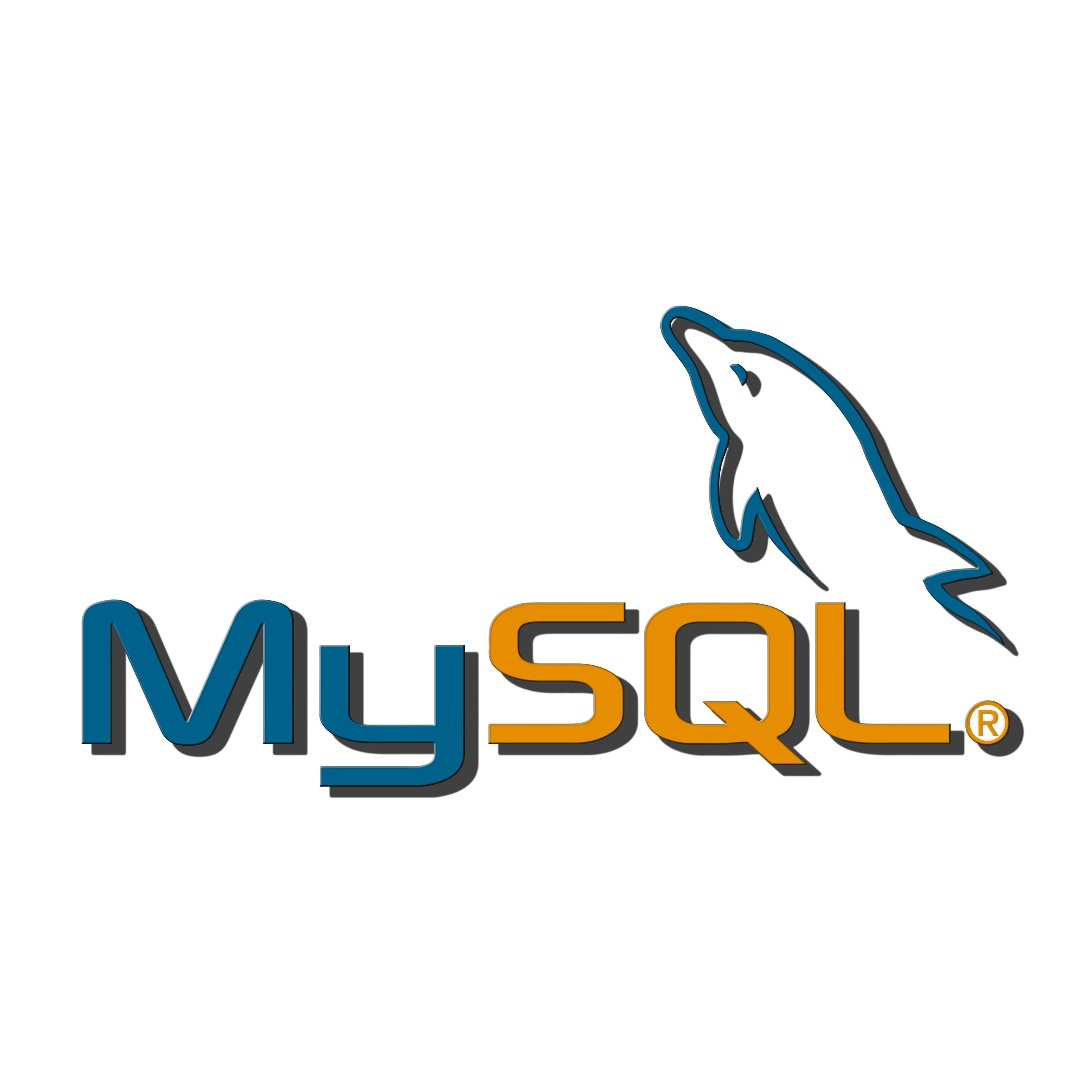 MySQL logo PNG