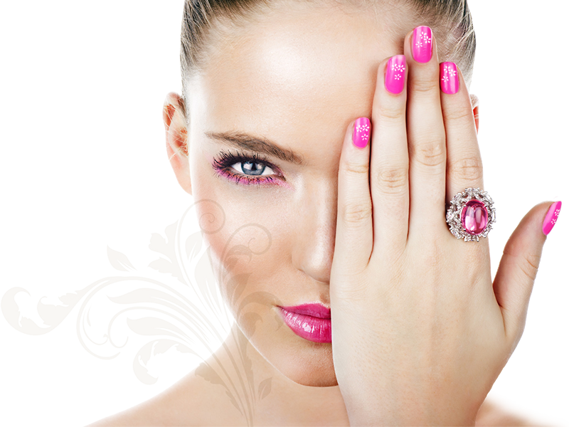 Nails manicure PNG
