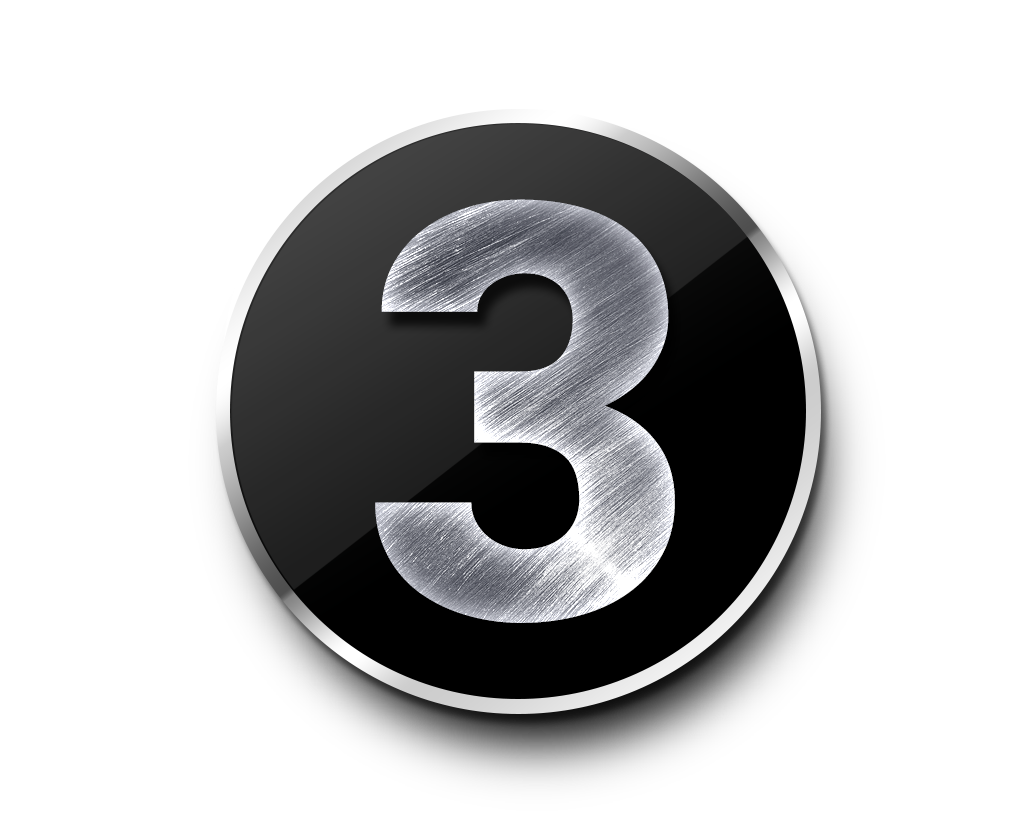 Home Creative Number 3 Png