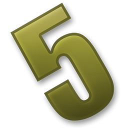 Number 5 PNG