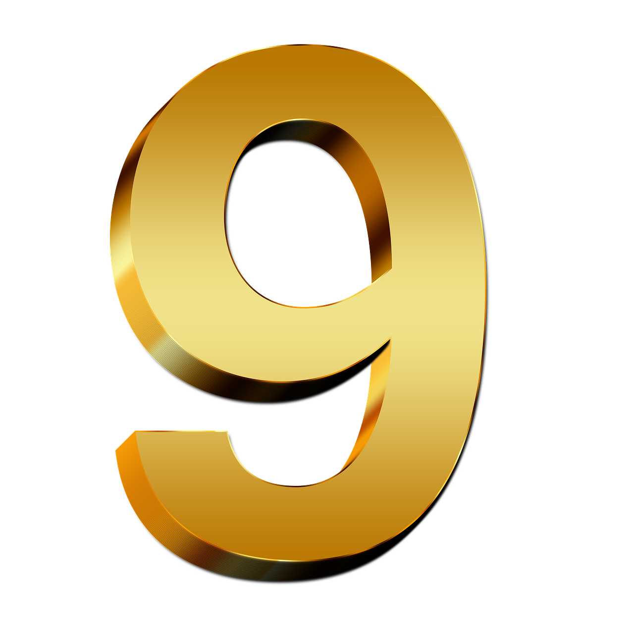 Number 9 PNG
