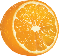Orange PNG image, free download