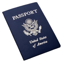 Passport USA PNG