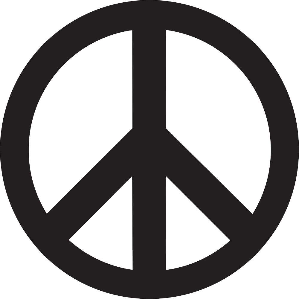 Peace symbol PNG images Download