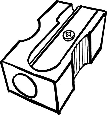 Pencil Sharpener Png