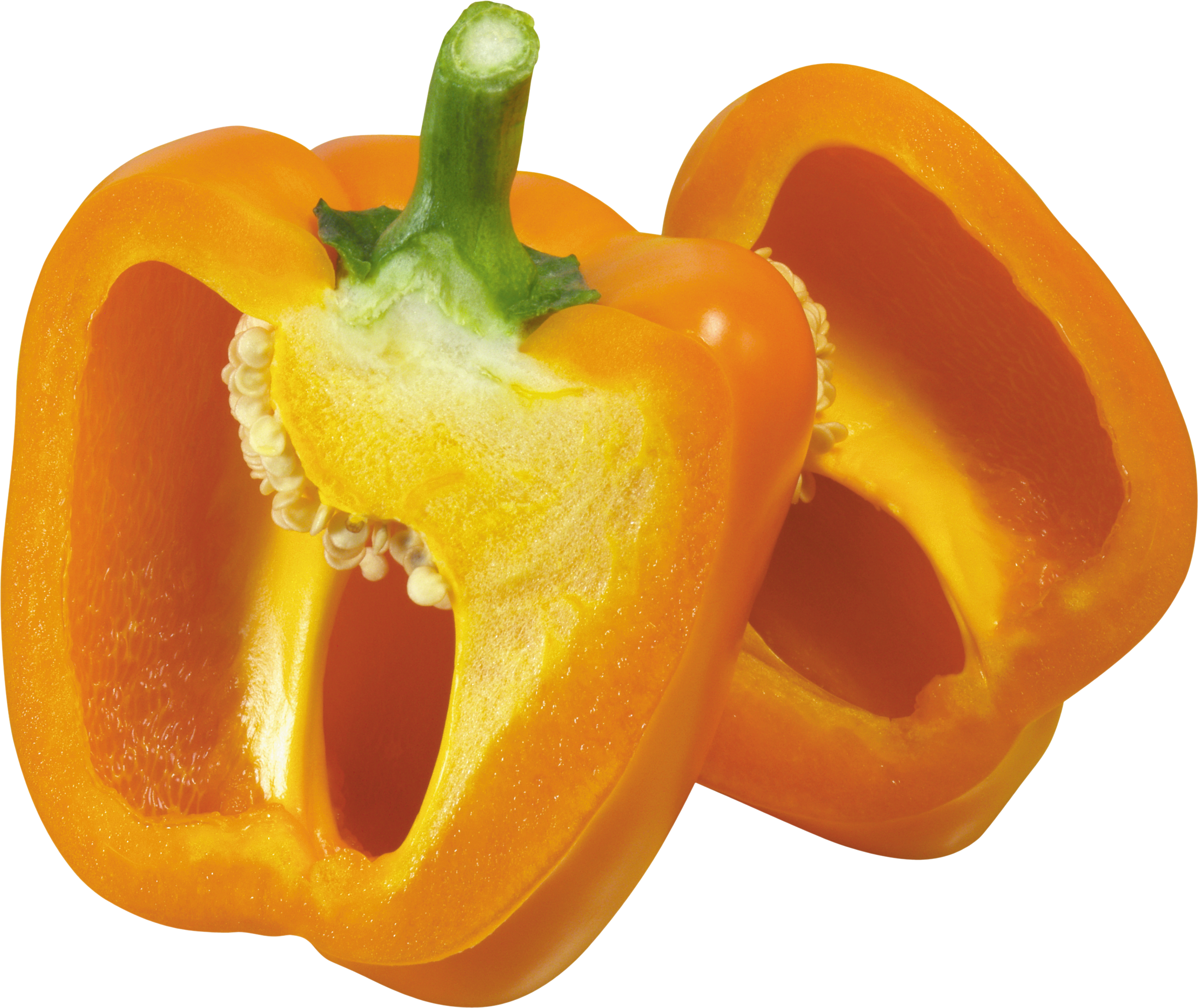 Yellow pepper PNG image
