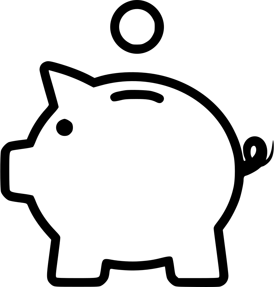 Piggy bank PNG