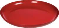 red plate PNG image