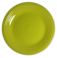 Green plate PNG image