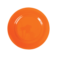 Ornage plate dish PNG image